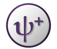 """Psi plus"" symbol: Positive Psychology"