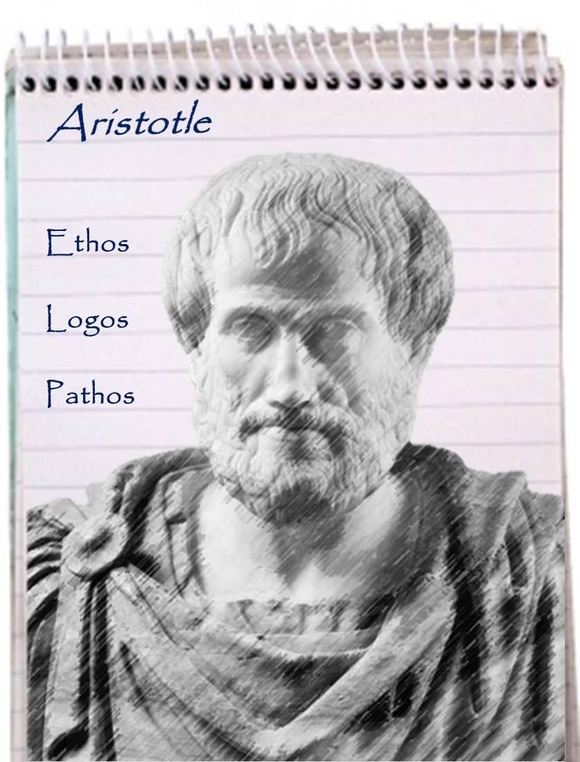 Aristotle - ethos, logos, pathos