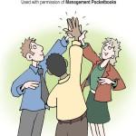 Clap hands trio