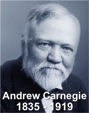Andrew Carnegie Rail Steel And Books Management Pocketbooks
