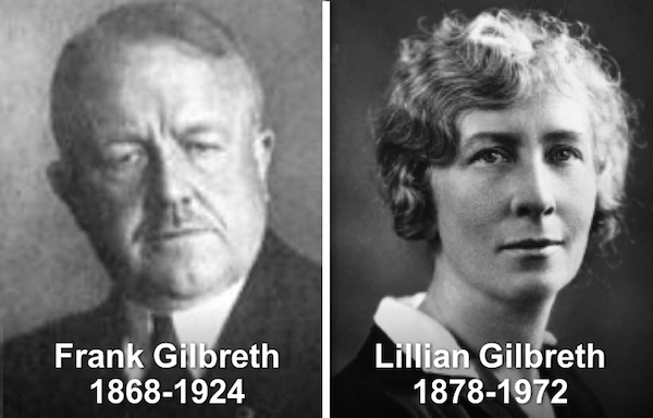 Frank & Lillian Gilbreth: Time and Motion - Management