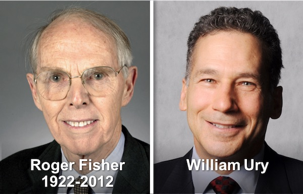 Roger Fisher & William Ury
