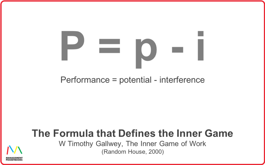 The Inner Game - Performance Potential Interference