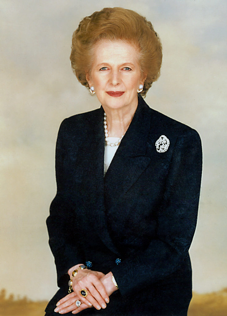 Margaret Thatcher (Picture credit: Wikipedia)
