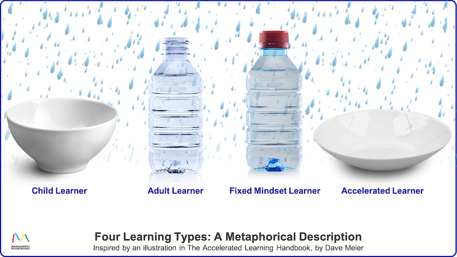 Four Learning Types: Child, Adult, Fixed, and Accelerated Learning