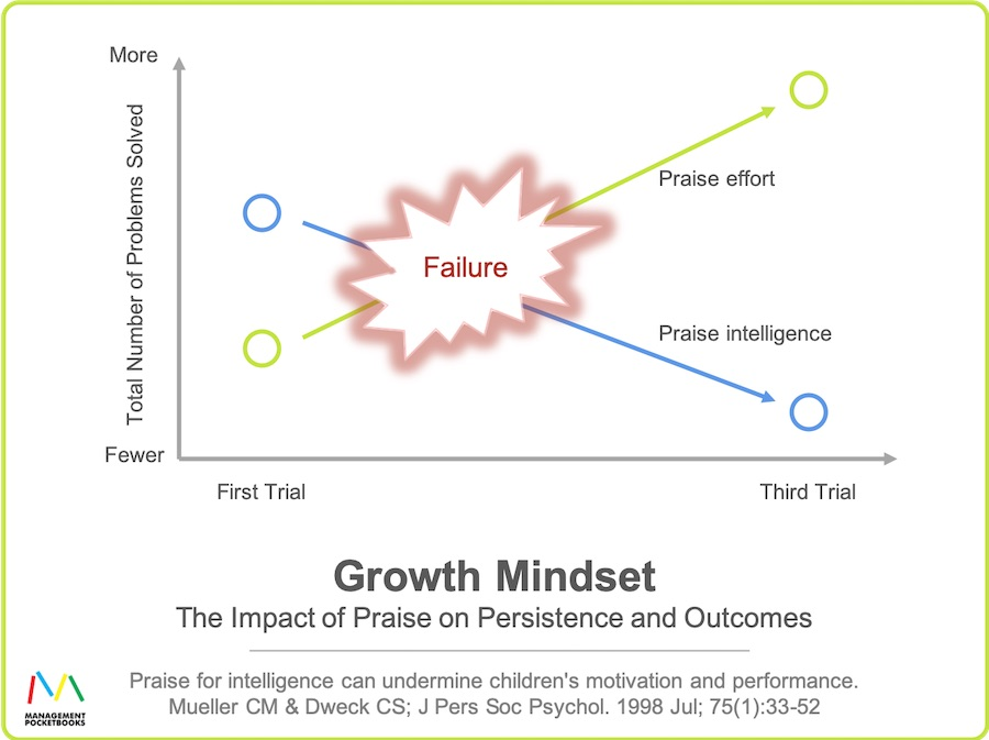Growth Mindset - Impact of Praise on Persistence and Outcomes