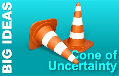 The Cone of Uncertainty